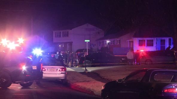 Police investigate after a shooting in Burlington County, N.J.