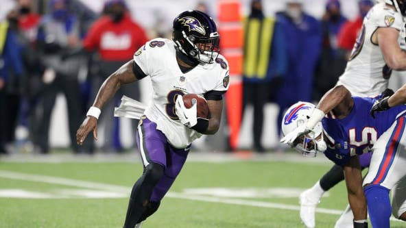 Bills fans donate to Lamar Jackson's charity after quarterback's injury in playoff game