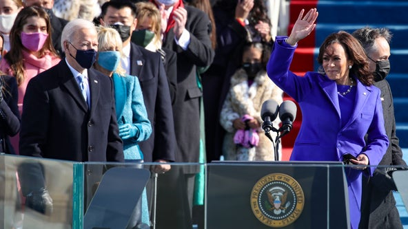 Kamala Harris' purple coat, Lady Gaga's lavish costume: American designers reign on Inauguration Day 2021