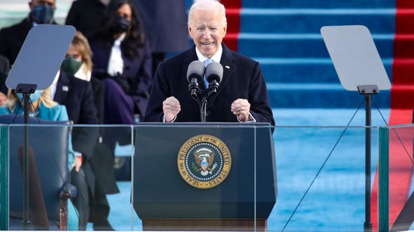 Full transcript: Read President Joe Biden's inaugural address