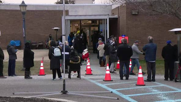 Gloucester County vaccination mega-site reopens to long lines after closing due to lack of supply