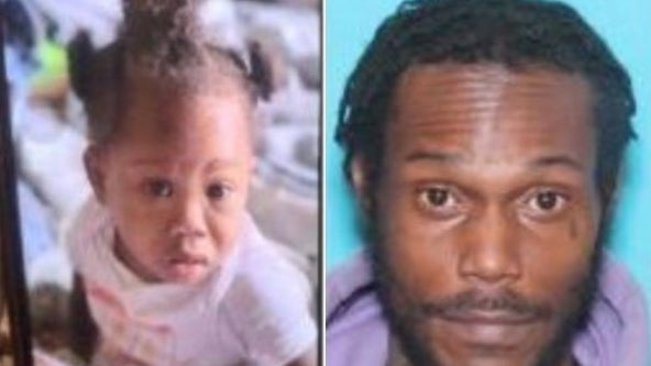 Amber Alert issued for 1-year-old girl last seen in Philadelphia Tuesday morning