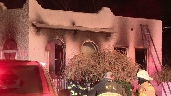 House fire sparked by space heater leaves 2 injured in Bucks County