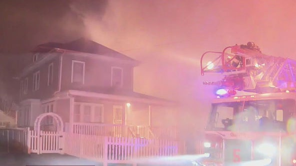 2-alarm fire damages home in Camden County