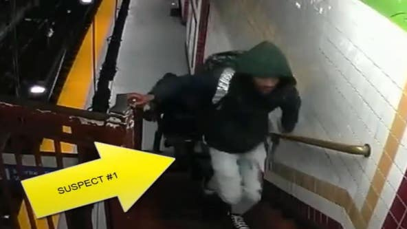 Surveillance video released of attempted robbery, shooting on subway platform in Center City