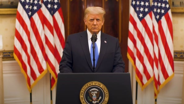 Full transcript: Read President Donald Trump's farewell address on eve of White House departure