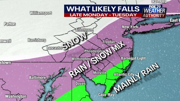 Weather Authority: Wintry mix heading for our area