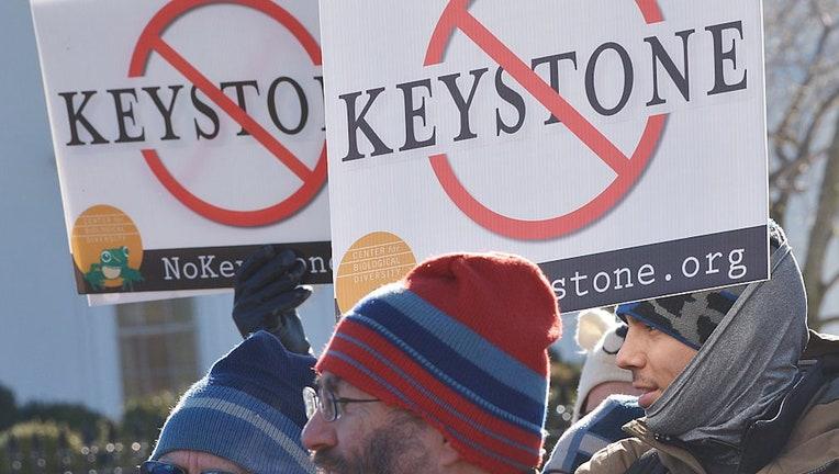 Keystone XL oil pipeline construction stops as Biden moves ...