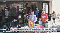 Kelly's Classroom: Holy Cross Regional Catholic School hosts soup and sock drive