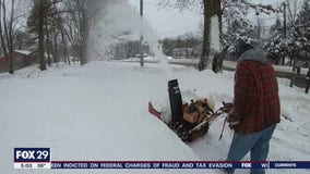Lehigh Valley digs out from 2 feet of of snow dumped on the area in the nor'easter