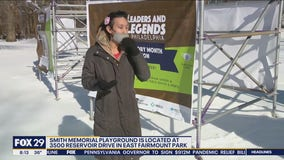 Smith Memorial Playground hosts inaugural exhibition honoring Black history