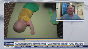 Congressional report finds toxic metals in baby food brands