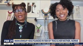 Imani Jewelry features hand crafted, one-of-a-kind art wear