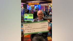 Gambler scores $1.1M jackpot on progressive poker game