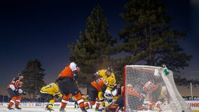Pastrnak has hat trick, Bruins beat Flyers 7-3 in Lake Tahoe