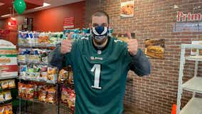 Eagles Autism Challenge ambassador teams up with Primo Hoagies in Chalfont to raise money