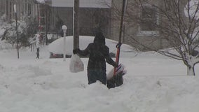 Folks dig out after 2 feet of snow falls in the Lehigh Valley