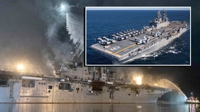 Lawmakers ask Navy to sink decommissioned assault ship off Florida coast