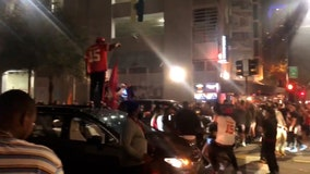 Buccaneers fans flood Tampa streets to celebrate historic home game Super Bowl win
