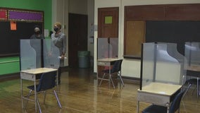 Philadelphia school officials give tour of building amid dispute over returning to classrooms