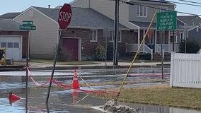 Sewage floods streets in Ventnor following broken main