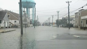 Coastal flooding from powerful nor'easter impacts Sea Isle City