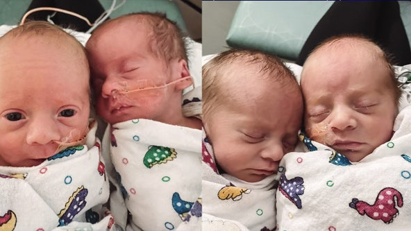 '8 days was an eternity': Mom reunites with newborn quadruplets after being separated during Texas storm