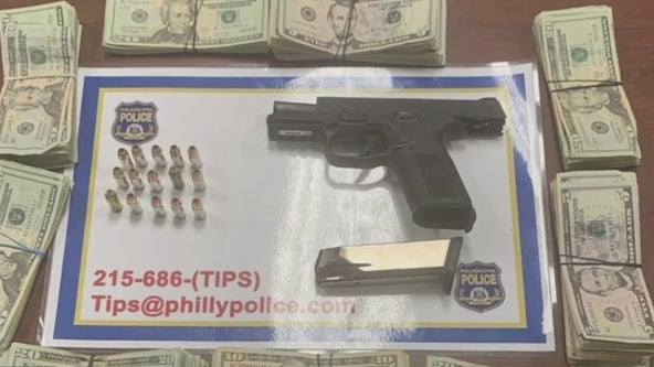 Philadelphia police working to get illegal guns off the streets