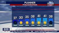 Weather Authority: Frigid Sunday leads to weekday warm-up
