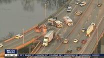 Walt Whitman Bridge shut down due to truck fire