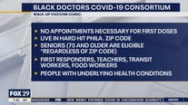 Black Doctors COVID-19 Consortium hosts walk-in clinics all week
