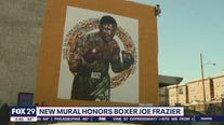 Smokin' Joe Frazier feted with statue, mural in Philly