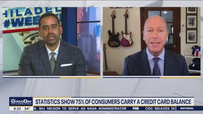Statistics show 75% of consumers carry a credit card balance
