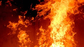 Wildfire rages out of control in Little Egg Harbor Township, no injuries reported