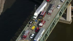 2 dead, 1 injured after disabled vehicle rear-ended by tractor-trailer on Delaware Memorial Bridge