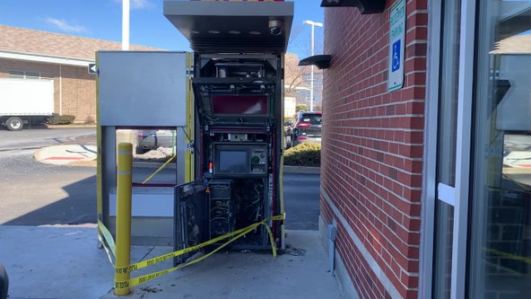 Suspects sought after ATM explosion at Chestnut Hill shopping center