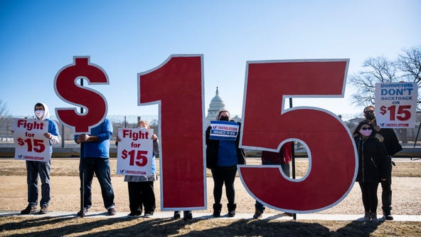 $15 minimum wage hike seems all but dead in Democrats' massive COVID-19 relief bill