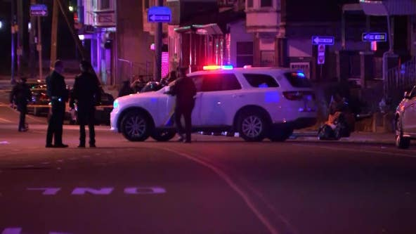 2 men critically injured in a fury of gunfire in West Philadelphia