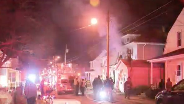 2 children critical after fire in Paulsboro, NJ
