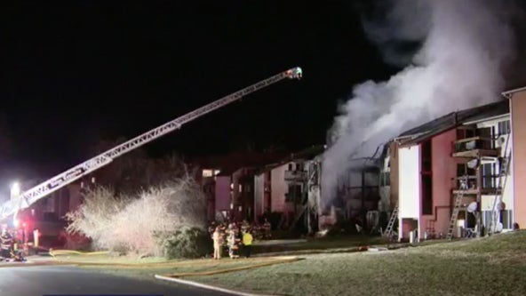 Apartment fire in Claymont displaces 40, causes $1 million damage