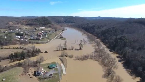 After 'record' Kentucky flooding, officials survey damage, seek federal help