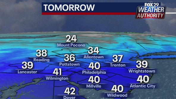 Weather Authority: Sunny, chilly weekend across the region
