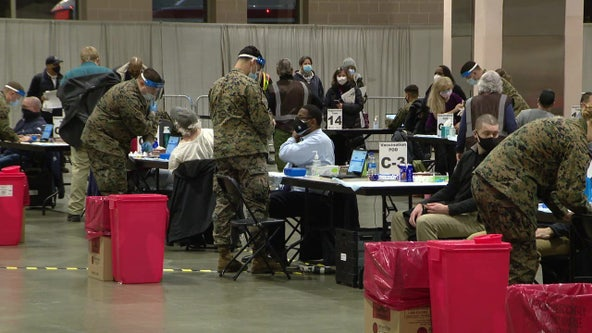 FEMA mass vaccination clinic opens Wednesday at Pennsylvania Convention Center