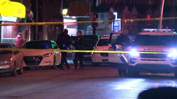 2 dead, 1 critical as gun violence rages Sunday night across Philadelphia