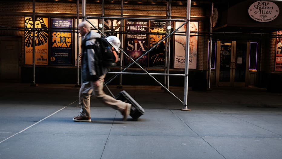 Broadway Theaters Remain Shuttered A Year On From Closing Due To Covid Pandemic