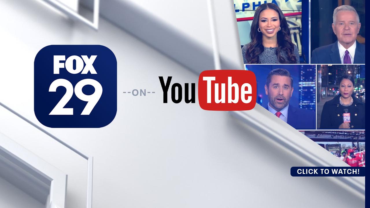 Follow FOX 29 on YouTube!