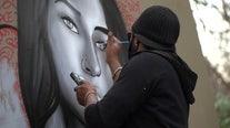 Philly artist Alloyius Mcilwane's 'Muse' series making its way around the world
