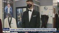 Getting ready for prom season with Saget's Formal Wear