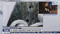 Commissioner Outlaw discusses shooting at Olney home that injured young boy