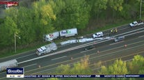 Tractor-trailer crash on NJ Turnpike causes massive traffic backup